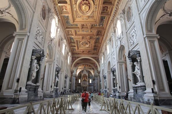 The interior of the Vatican (c) Gregorio Borgia-Associated Press