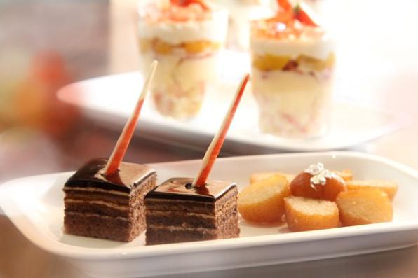 Chocolate dessert to be served at Za Za Bazaar (c) Za Za Bazaar