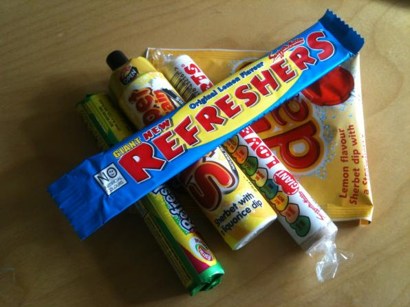 Retro sweets