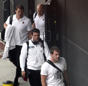 England players return from the World Cup