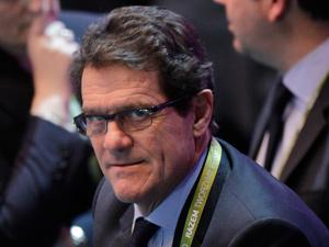 Fabio Capello - that's a smile