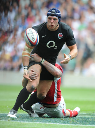 James Haskell, rugby union, England