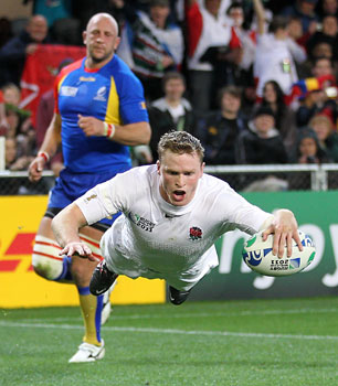 Chris Ashton, England v Romania