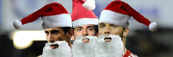 Footballers with festive names