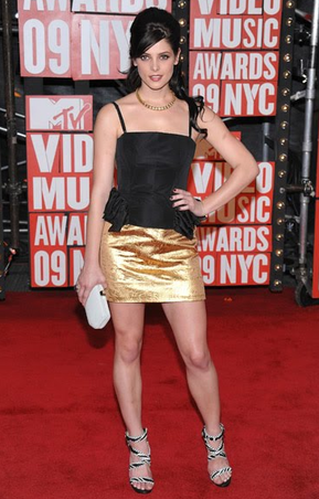 Ashley at the 2009 MTV VMAs