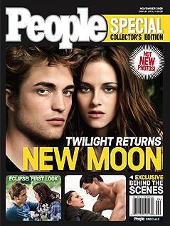 People magazine's collector's edition New Moon issue.