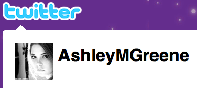 Ashley Greene on Twitter