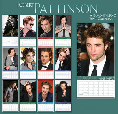 Robert Pattinson calendar