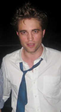 "Sweaty Rob filming ""Remember Me"""