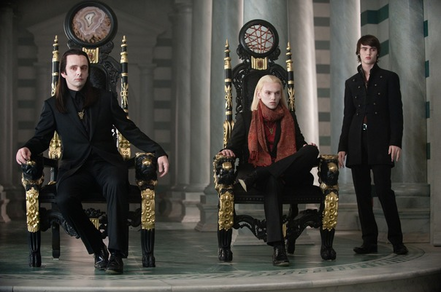 "Aro, Caius, and Alec in ""New Moon"""