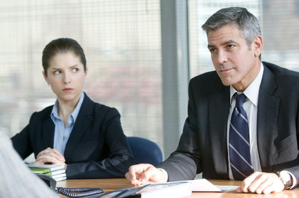 "Anna Kendrick and George Clooney in ""Up in the Air"""