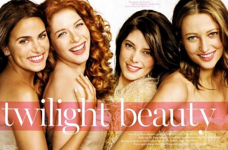 Twilight Beauty in Glamour magazine