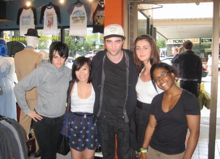 Rob and Kristen in Vancouver