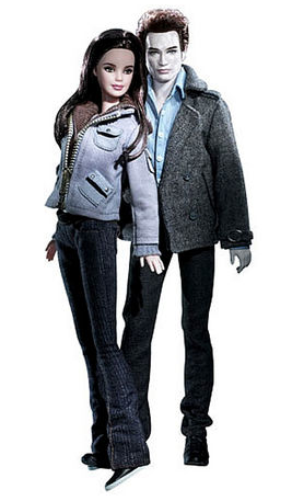 Bella and Edward Barbie dolls