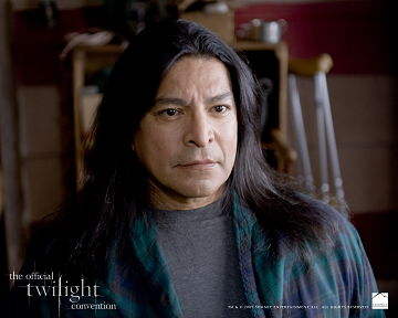 "Gil Birmingham as Billy Black in ""New Moon"""