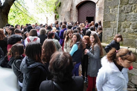 Extras auditions in Montepulciano