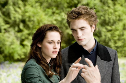 "Bella and Edward in ""New Moon"""