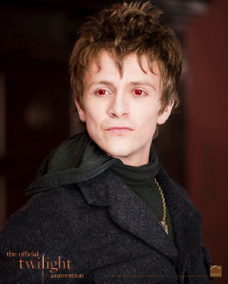 "Charlie Bewley as Demetri in ""New Moon"""