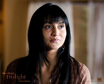 "Tinsel Korey as Emily Young in ""New Moon"""