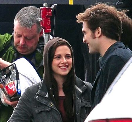 Kristen and Rob on &quot;Eclipse&quot; set