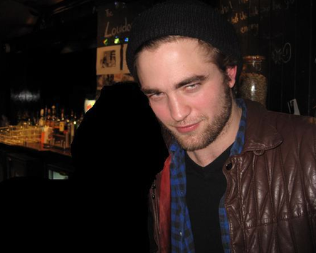 Rob with a fan