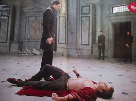 "Felix and Edward in ""New Moon"""