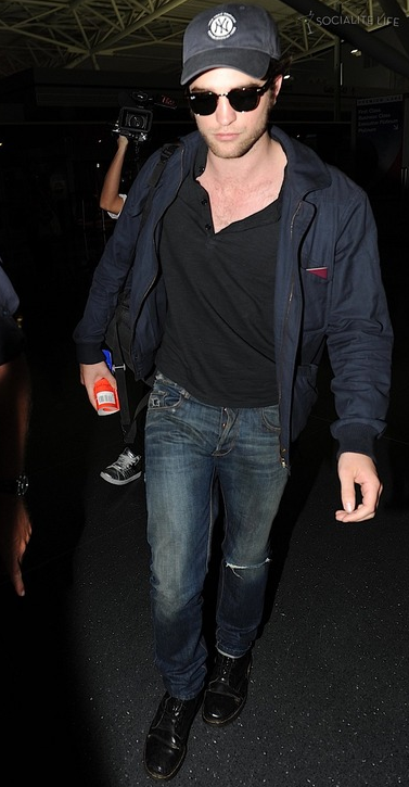 Rob arriving at JFK