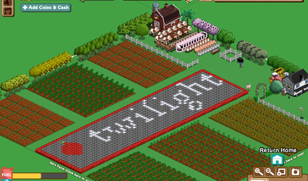 "Farmville ""Twilight"" farm"