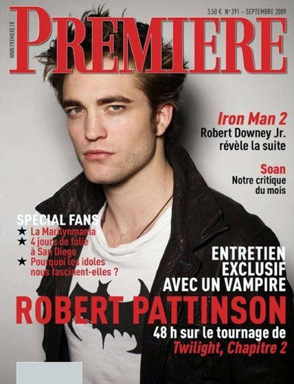 Rob in Premiere magazine