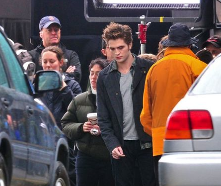 Rob on &quot;Eclipse&quot; set