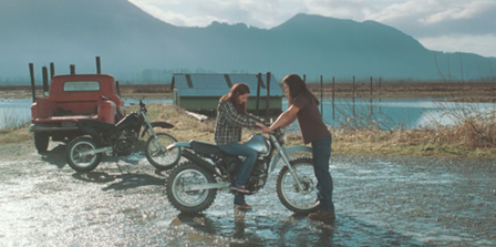 "Bella and Jacob in ""New Moon"""