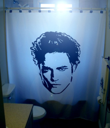 Edward Cullen shower curtain