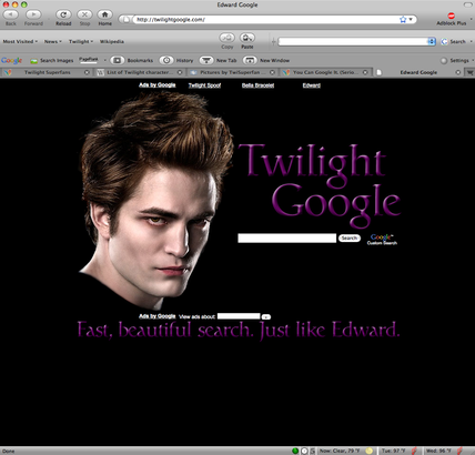 Twilight Google
