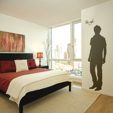 Edward Cullen silhouette cutout